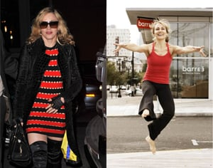 Madonna's New Fitness Regimen Is Barre3 With Trainer Sadie Lincoln
