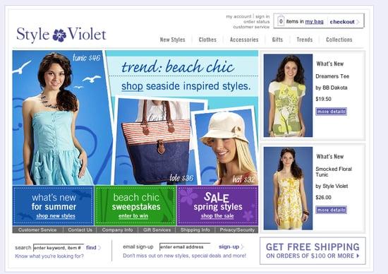 Fab Site: StyleViolet.com