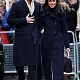 November: They Stepped Out For Their First Royal Engagement