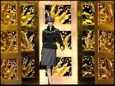 Paris Fashion Week: Christian Dior Fall 2009 Video