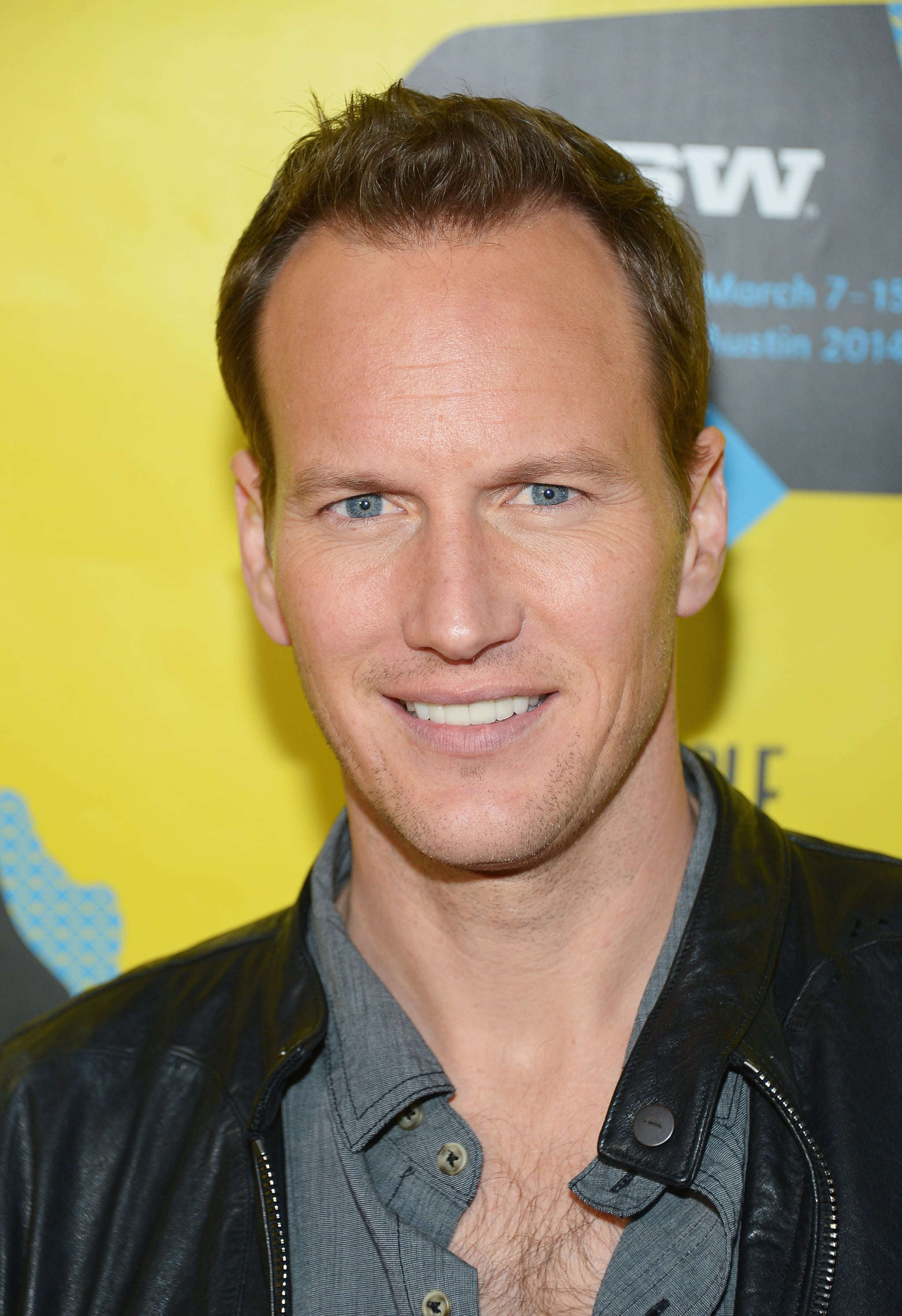 Patrick Wilson flashed his smile at the Space Station 76 premiere on Saturday.