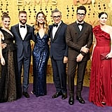 Cast of Schitt's Creek at the 2019 Emmys