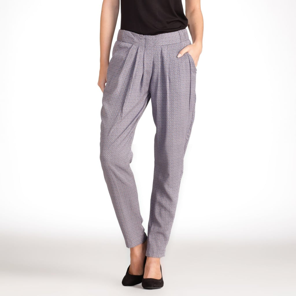 These trousers are a slouchy fit but still look sleek and polished. La Redoute Printed Wide Cut Trousers ($21)