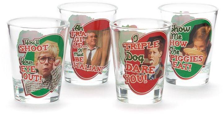 A Christmas Story Shot Glass Set ($15)