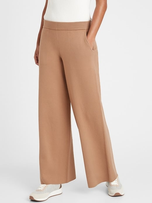 Banana Republic Wide-Leg Sweater Pant