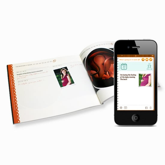 Sprout Pregnancy Journal iPhone App-to-Book