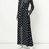 Layeur Long-Sleeved Printed Dress