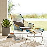 Large Huron Outdoor Lounge Chair and Cushion