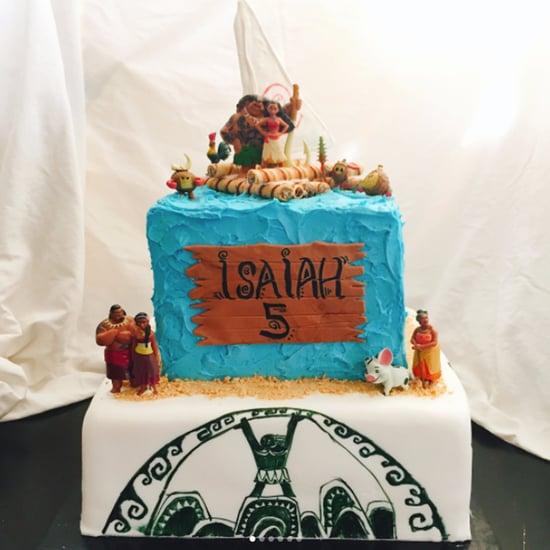 Moana Birthday Cakes
