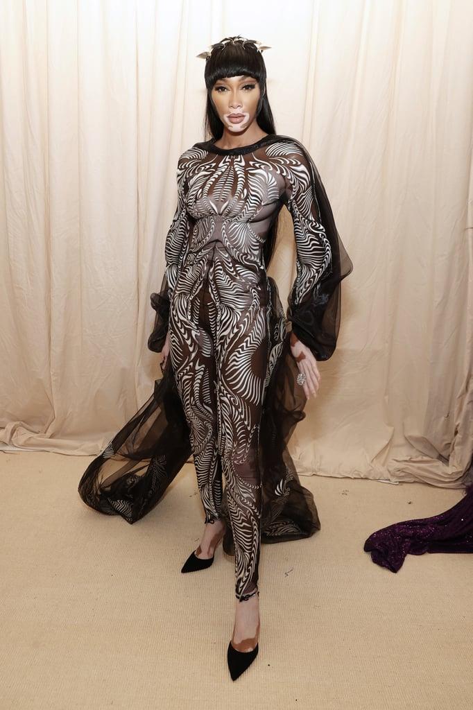 Winnie Harlow at the 2021 Met Gala