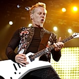 James Hetfield of Metallica rocked out on the second day of Outside Lands.