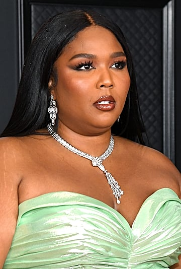 Lizzo's Setting Trends With Her Green Jade Nail Art Design