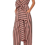 Tome Striped Cotton Bow Front Jumpsuit ($1,050)