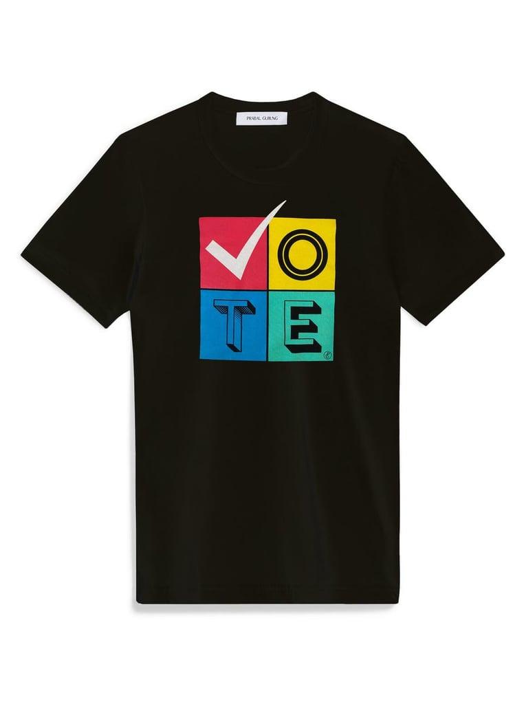 Prabal Gurung's When We All Vote T-Shirt