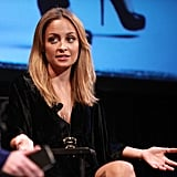 Nicole Richie spoke at the Teen Vogue Fashion University event in NYC.