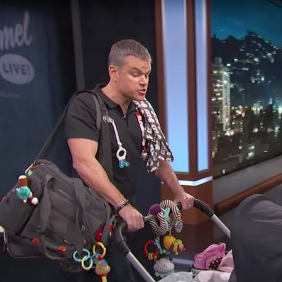 George Clooney's Twins on Jimmy Kimmel Live Video