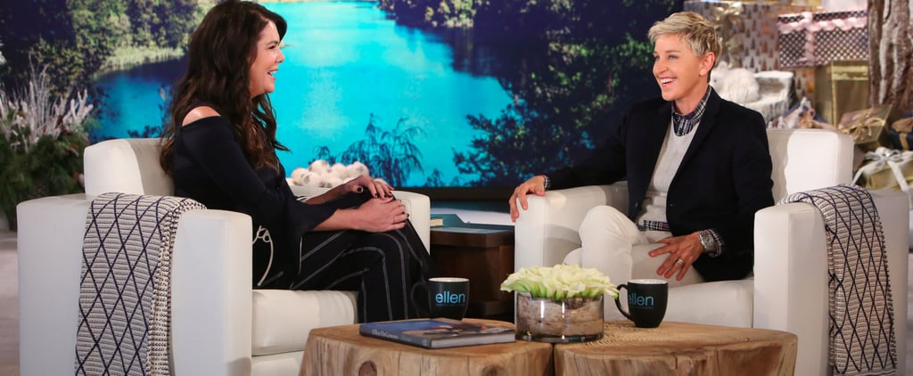 Lauren Graham Talks About Gilmore Girls on Ellen Nov. 2016