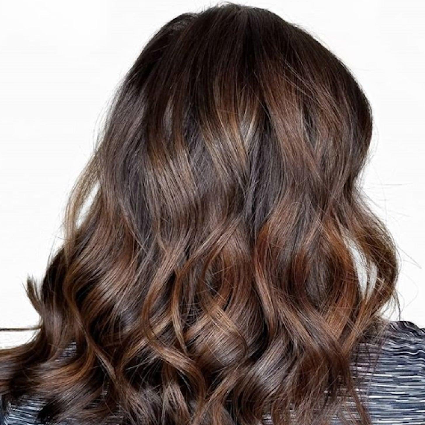 Dark Chocolate Fall Brunette Hair Colours 2018 Popsugar Beauty Australia Photo 8