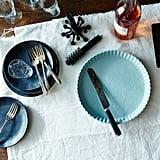 Blue Tart Plate ($68)