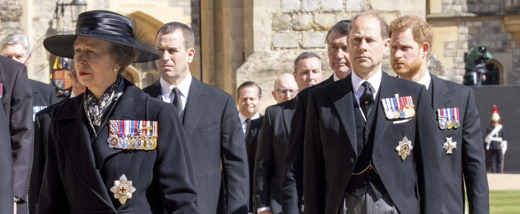 The Royal Family at Prince Philip's Funeral | Pictures