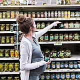 Pregnancy Cravings Maternity Shoot at the Grocery Store