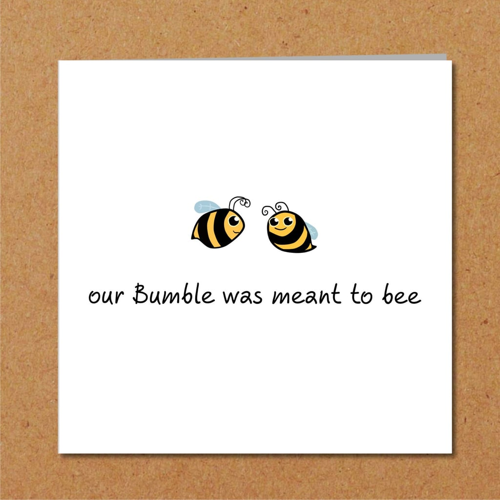 Bumble Dating Valentine's Card