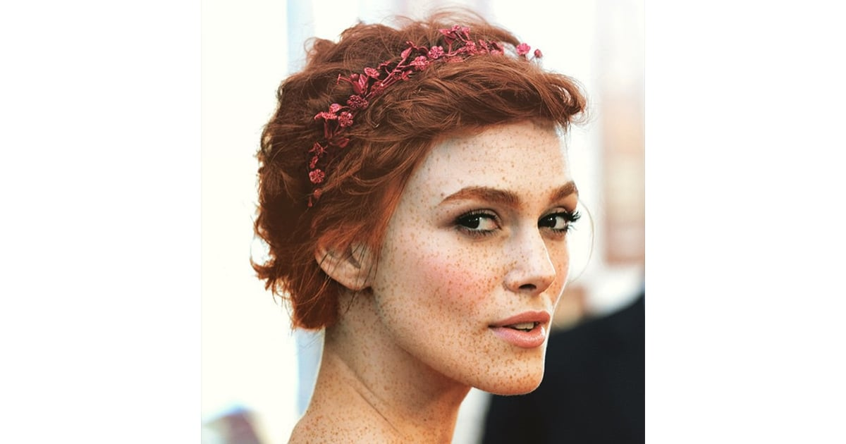 Keira Knightley Celebrities As Redheads Instagram | Dark ...
