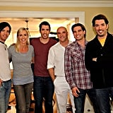 JD Scott, Drew Scott, Scott McGillivray, and Jonathan Scott