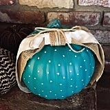Polka Dots With a Burlap Bow