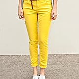 What's better for Spring than sunny yellow trousers?  Forever 21 Twill Skinny Pants ($16)