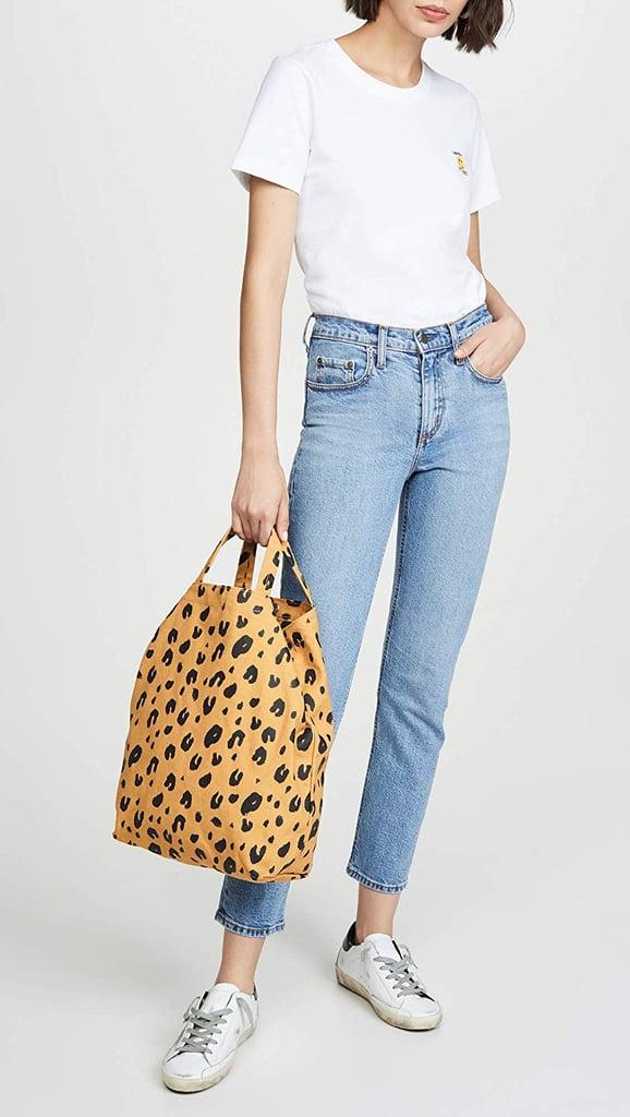 Baggu Leopard Duck Bag