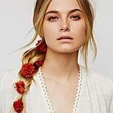 Lena Bernard For Free People Women's Pom Pom Floral Braid In ($28)