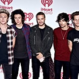 One Direction at iHeart Radio Music Festival in 2014