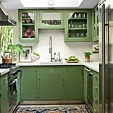 Dakota Johnson's Green, Serene Kitchen in Her LA Home