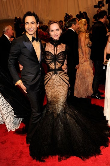 Zac Posen and Christina Ricci