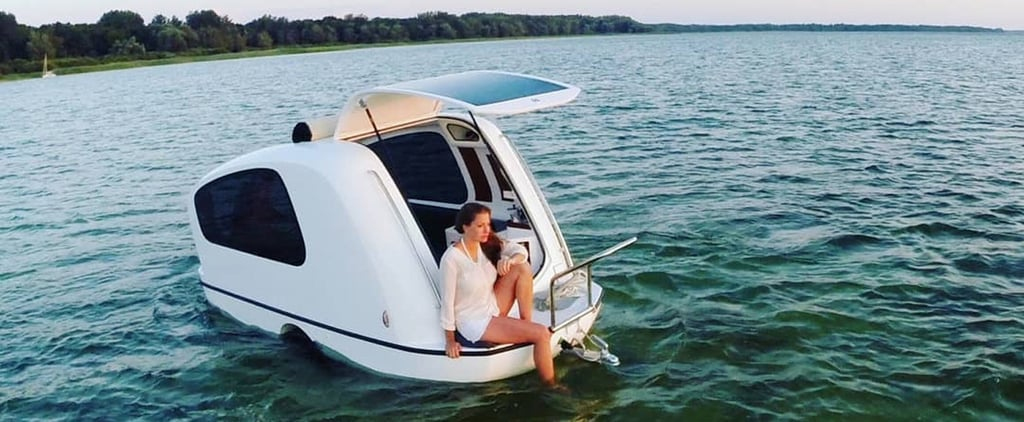 Sealander Camper That Turns Into a Mini Boat