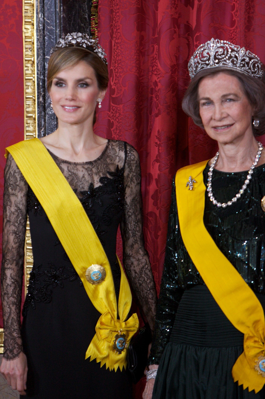 The Spanish Royals Host One Very Glamorous Dinner