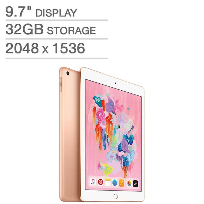 New Apple iPad A10 Fusion Chip | Costco Holiday Deals 2018