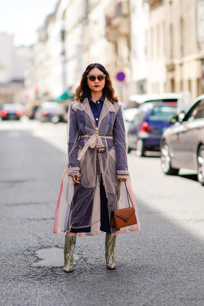 Sheer Trench Coats Are a Thing
