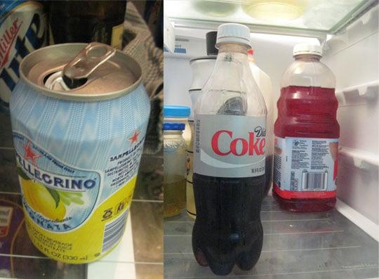 Dispose of Old Beverages