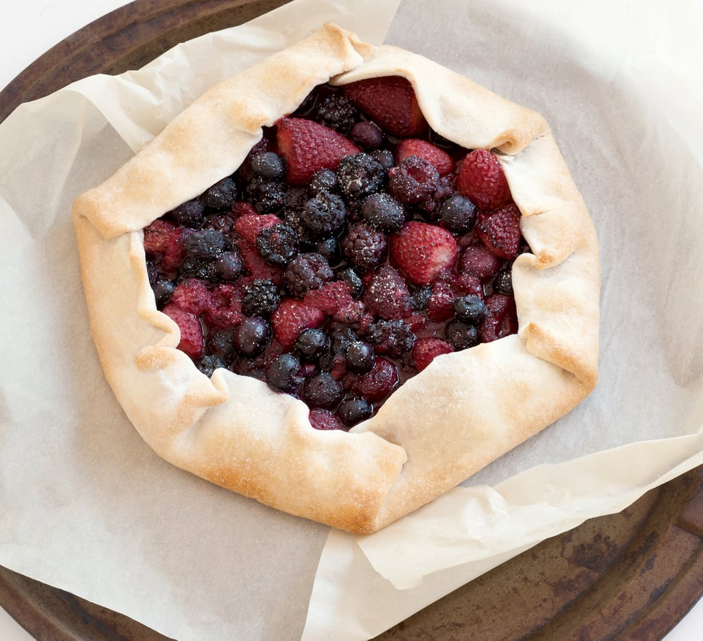 Simple Holiday Fruit Pie