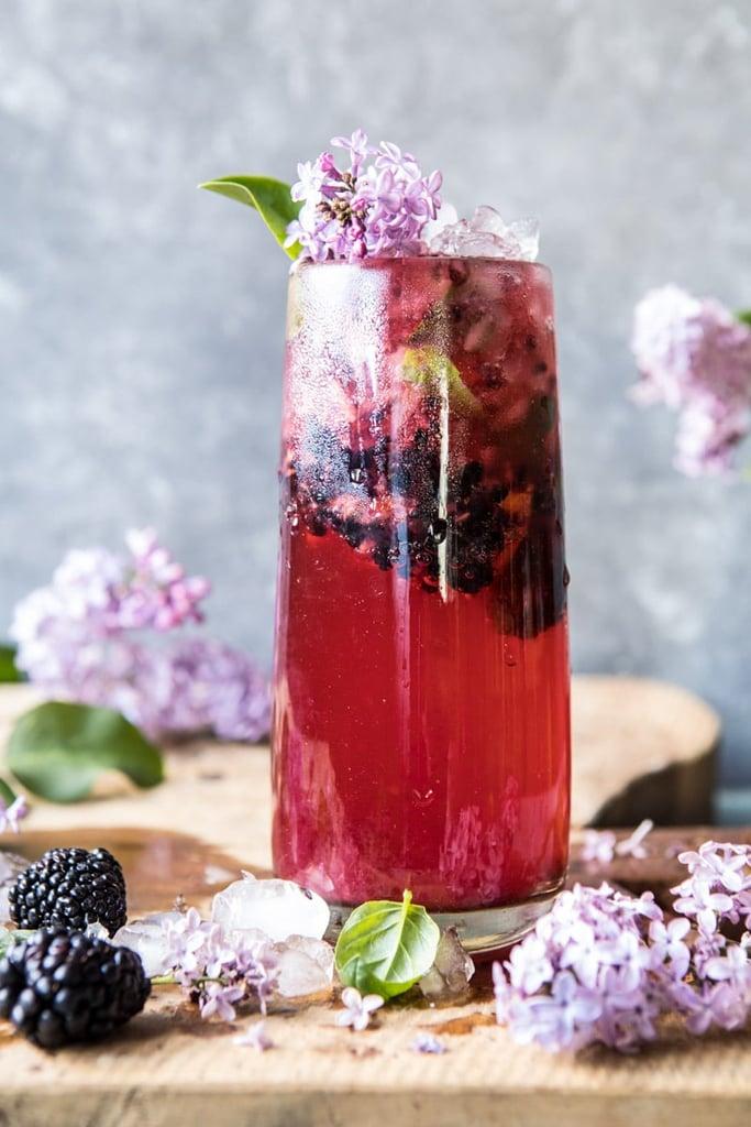 Blackberry Lilac Mojito