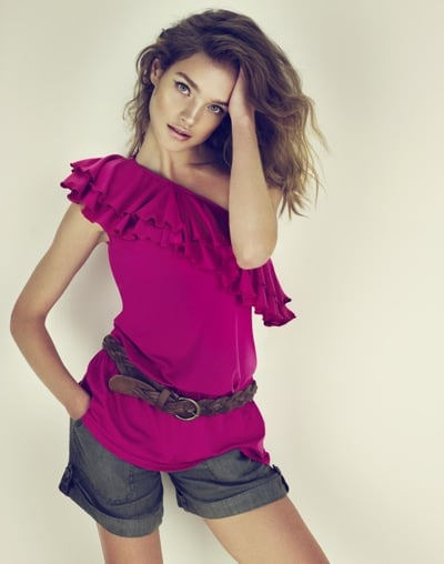 Natalia Vodianova Pour Etam Spring 2010 Daywear Collection