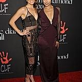 Nikki Reed and Kat Graham wore sexy ensembles.