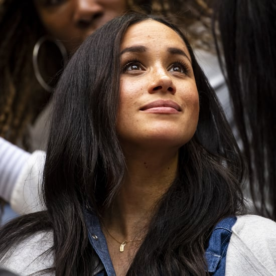 Meghan Markle Wears Harry and Archie's Initials on Necklace