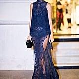 Alessandra Ambrosio at Paris Fashion Week Spring 2017