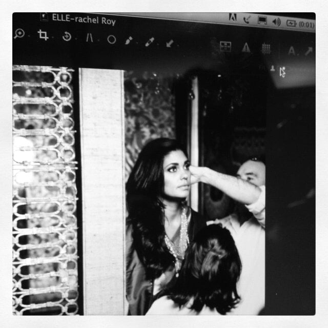 Rachel Roy got glam for an Elle India shoot. Source: Twitter user Rachel_Roy