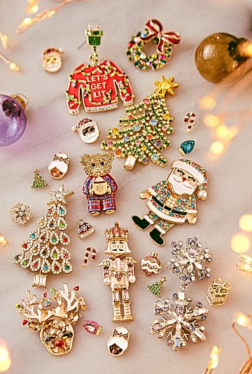 Shop the New BaubleBar Jewelry Holiday Earrings For 2021