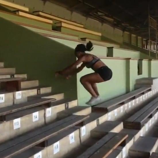 Stair-Jump Workout