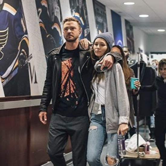 Jessica Biel Post For Justin Timberlake Last Tour Night 2019